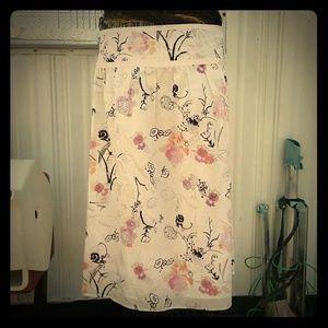 CALVIN KLEIN JEANS cotton skirt pencil size 8